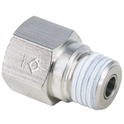 CVPV 02 | PT, R, BSPT 1/4 Thread Male to Female Straight Check Valve