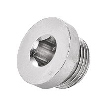 SPHM Internal Hex Male Plug Brass Pipe Fittings