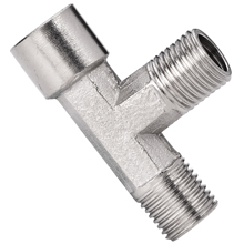 SDMF Male to Female Run Tee Brass Pipe Fittings