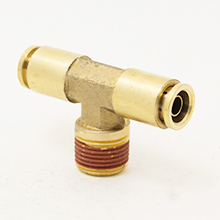 D.O.T Push in Tube Fittings Male Branch Tee