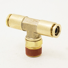 D.O.T Push in Tube Fittings Swivel Male Branch Tee
