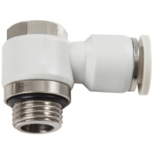 G, BSP, BSPP Thread White Push in Fittings with O-ring Male Banjo Elbow