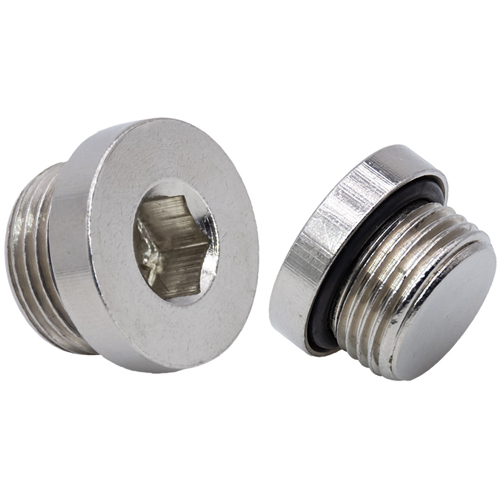 Internal Hexagon Male Plug Brass Pipe Fittings