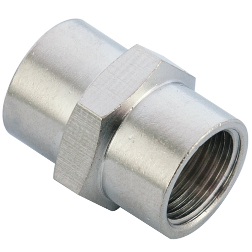 M10X1.0 Female Coupling Brass Pipe Fitting