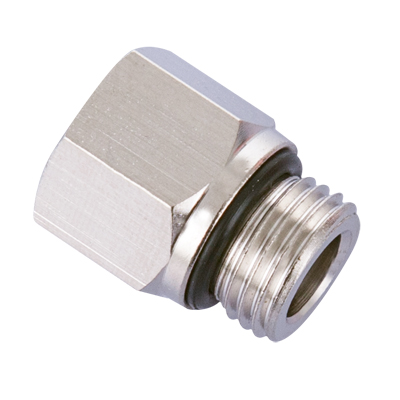 M10 Male to 1/8 NPT Female Adapter Brass Pipe Fitting