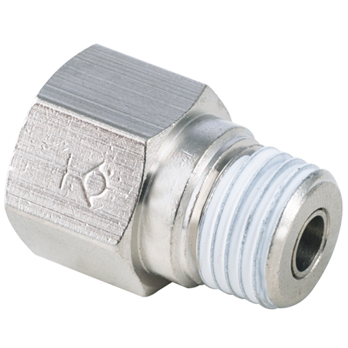 Male to Female Straight Check Valve PT, R, BSPT 1/4 Thread