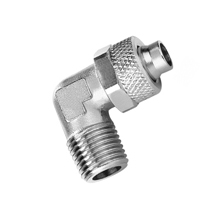 Male Elbow Nickel Plated Brass Rapid Fittings