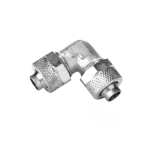Union Elbow Nickel Plated Brass Rapid Fittings