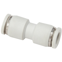 White Push in Fittings Equal Union Straight
