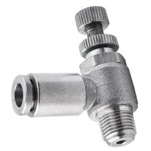 Speed Controller Stainless Steel Push to Connect Fittings